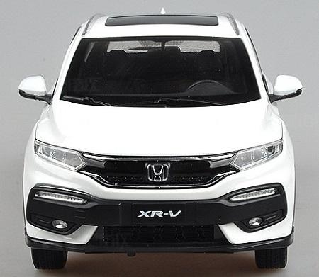 โมเดลรถ โมเดลรถเหล็ก โมเดลรถยนต์ Honda XRV ขาว 6