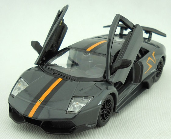 โมเดลรถ โมเดลรถยนต์ โมเดลรถเหล็ก Lamborghini Murcielago Chinese Limited 4