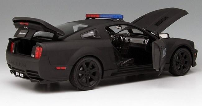โมเดลรถ โมเดลรถเหล็ก โมเดลรถยนต์ Ford Police S281 5