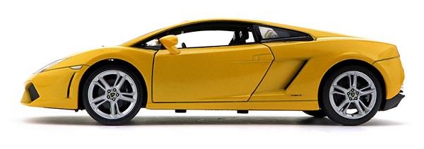 โมเดลรถ โมเดลรถยนต์ โมเดลรถเหล็ก Gallardo 560-4 เหลือง 3