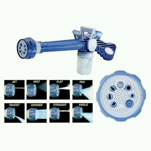 HYDRO POWER CANNON WATER JET [ ที่ฉีดน้ำแรงดัน 8 ระบบ พร้อมที่เติมน้ำยา ]
