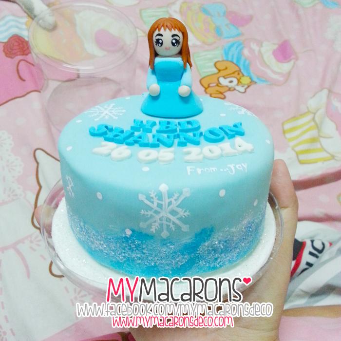 """Cake frozen girl 4"""""""