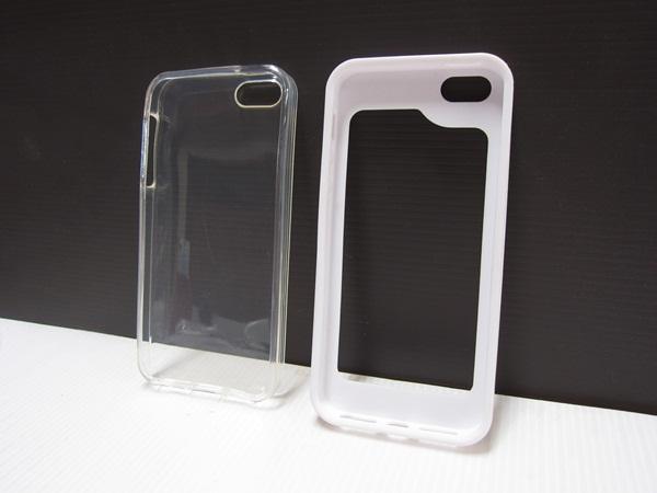 เคส ไอโฟน 5 ขาว + ใส
