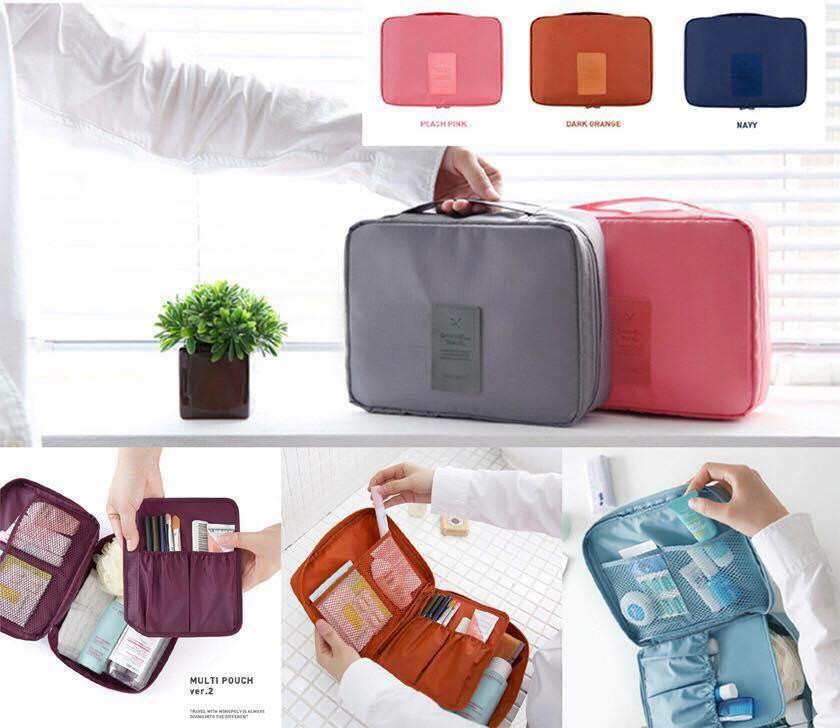 Multi Pouch กระเป๋าจัดระเบียบสำหรับจัดกระเป๋าเดินทางใส่ของใช้ในชีวิตประจำวัน