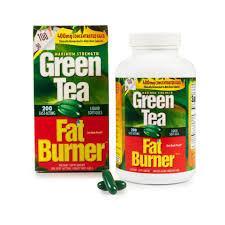 กรีนที แฟท เบิร์น์เนอร์ Green Tea Fat Burner Concentrate Extract 400 mg EGCG 1 กระปุกมี 200 เม็ด