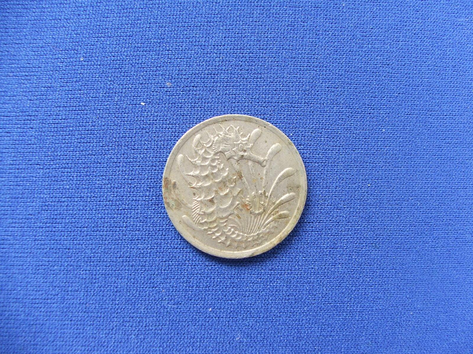 เหรียญ10 cents Singapore 1980