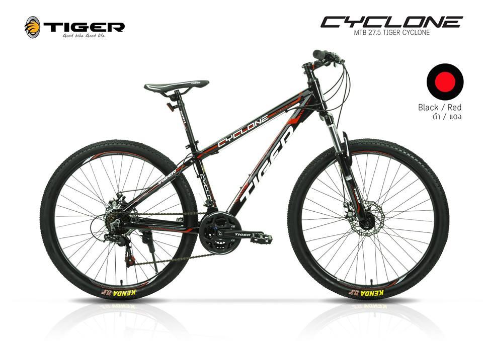 Tiger รุ่น Cyclone จักรยานเสือภูเขา ล้อ27.5