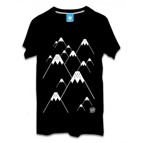 เสื้อผ้าผู้ชาย | เสื้อยืดแฟชั่น เสื้อยืด VERz ลาย Snow Moutain