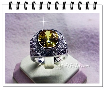 แหวนพลอยบุษราคัม