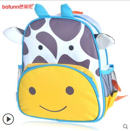 (ยีราฟ) กระเป๋าเป้ zoo pack พิเศษรุ่นซิปเป็นรูปสัตว์ตามแบบกระเป๋าค่ะ