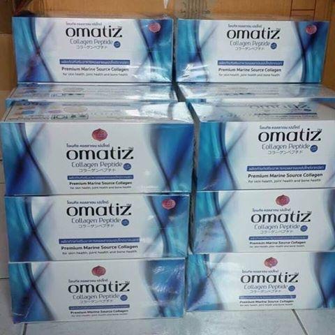 LS Omatiz Collagen Peptide โอเมทิซ คอลลาเจน เพียว100% (ส่งฟรี EMS)