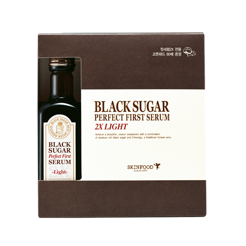 Skinfood Black Sugar Perfect First Serum 2X-light-(skin-brightening and Anti-wrinkle Effects)
