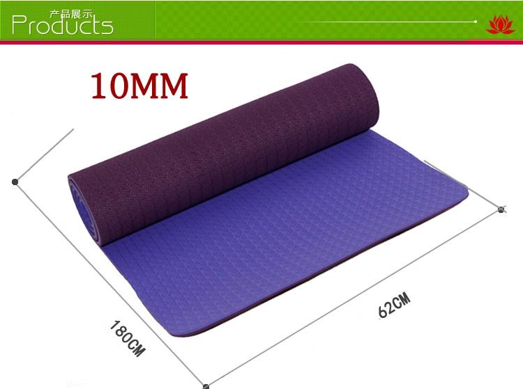 (พรีออเดอร์) เสื่อTPE 10 mm ทรูโทน 2 หน้า ไซต์S