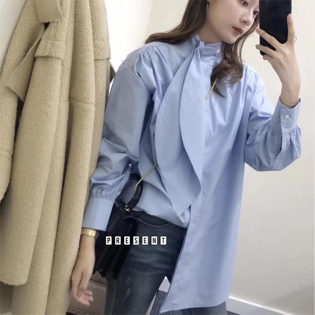 เสื้อผ้าเกาหลีพร้อมส่ง มินิเดรสจะแมท์กับขาสั้นหรือใส่เป็นเสื้อก็ได้ค่ะ