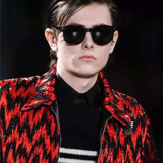 เสื้อแขนยาวSaint Laurent Striped Sweater