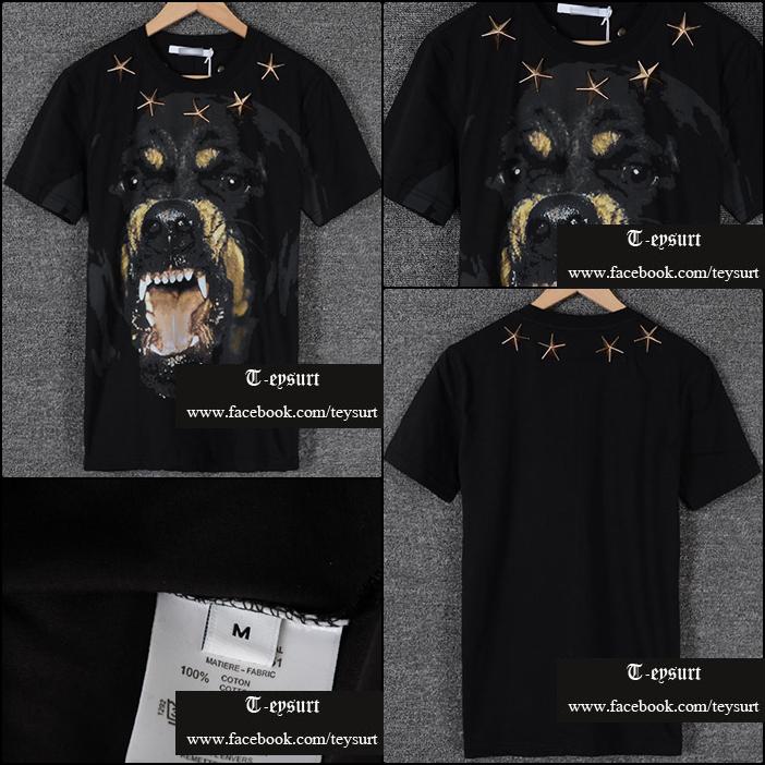 เสื้อยืดGivenchy Rottweiler Star