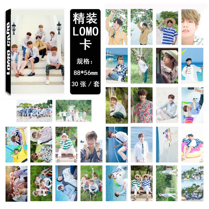 LOMO CARD BTS 2017 SUMMER PACKAGE 08