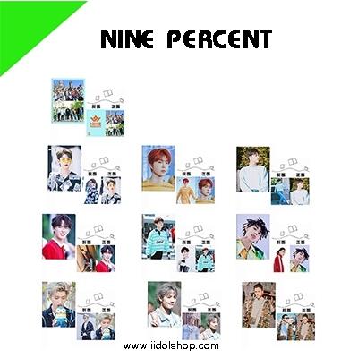 สมุดโน๊ต NINE PERCENT -ระบุหมายเลข-