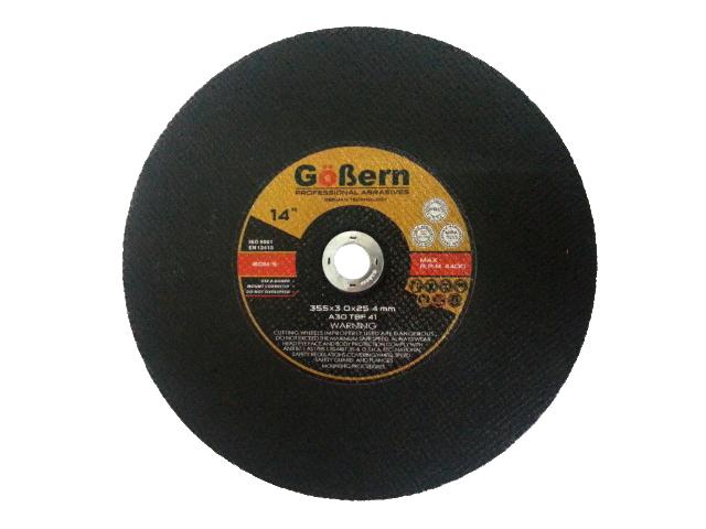 แผ่นตัดไฟเบอร์ 14 นิ้ว (ใบตัดไฟเบอร์) GoBern