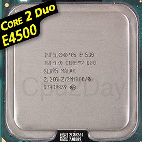 [775] Core 2 Duo E4500 (2M Cache, 2.20 GHz, 800 MHz FSB)