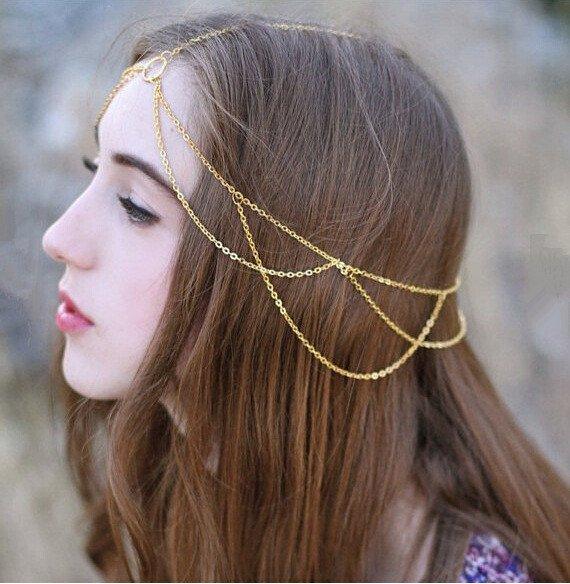 สร้อยคอ Chain tassel hair ornament สำเนา