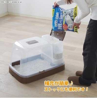ห้องน้ำแมวเททรายอัตโนมัติ นำเข้าจากญี่ปุ่น