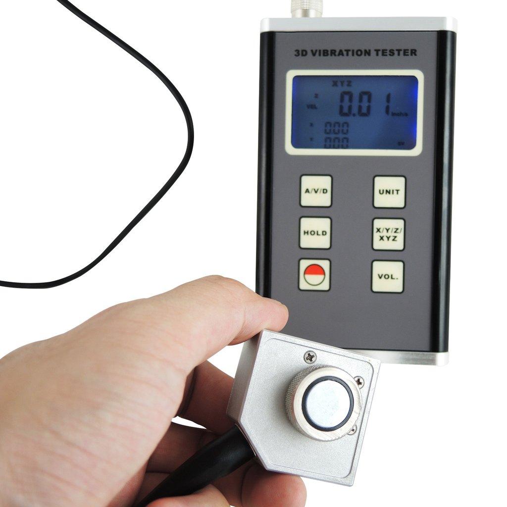 3-Axis Vibration Meter เครื่องวัดความสั่น แบบ Accelerometer รุ่น VM-6380 แบบสามมิติ ราคากันเอง