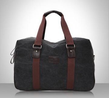 กระเป๋าแฟชั่น CanvasArtisan สีดำ (รหัส ca1)