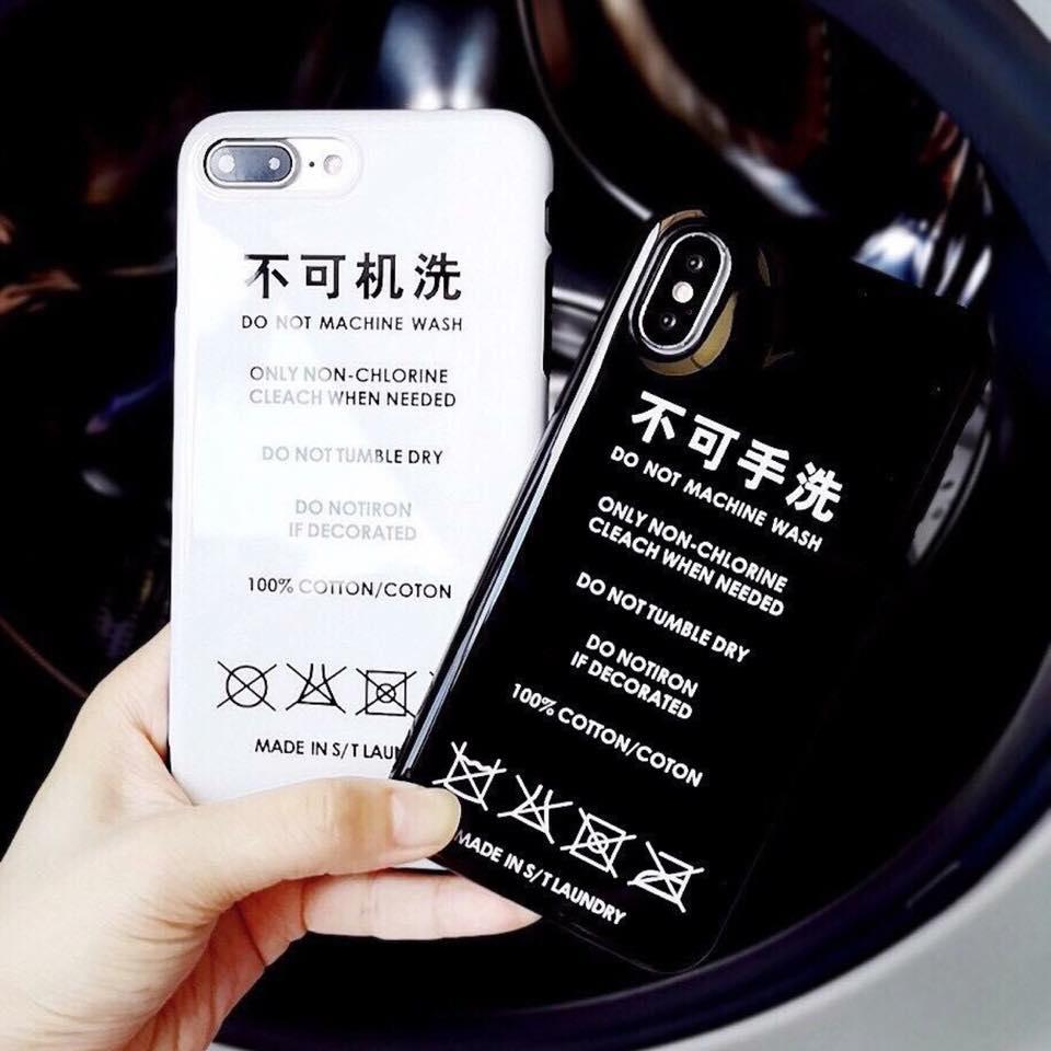 เคสนิ่ม Black/White iPhone X