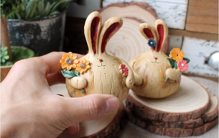 กระต่ายคู่ (เล็ก)