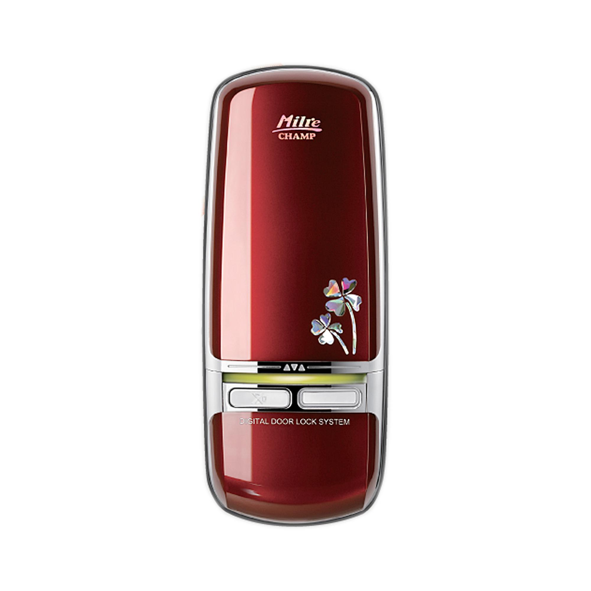 LOXguard Digital Door Lock รุ่น Milre MI-350D (Code+Digital Key) - สีแดง