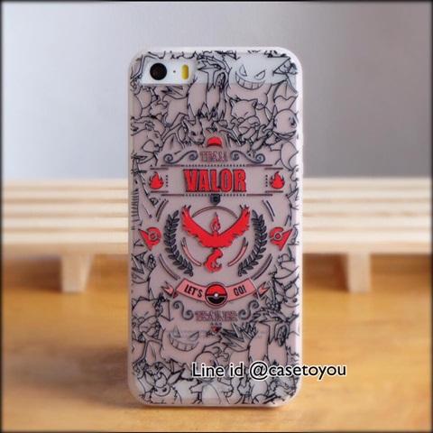 Pokemon GO VALOR iPhone 5/5S/SE