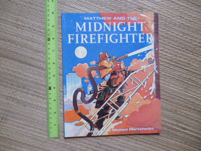 Matthew and the Midnight Firefighter (Paperback)