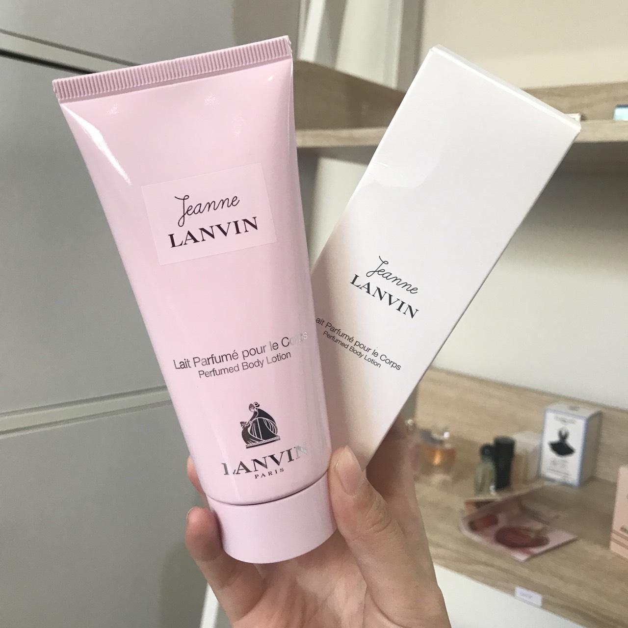 โลชั่นน้ำหอม Lanvin Jeanne Parfum 100ml.