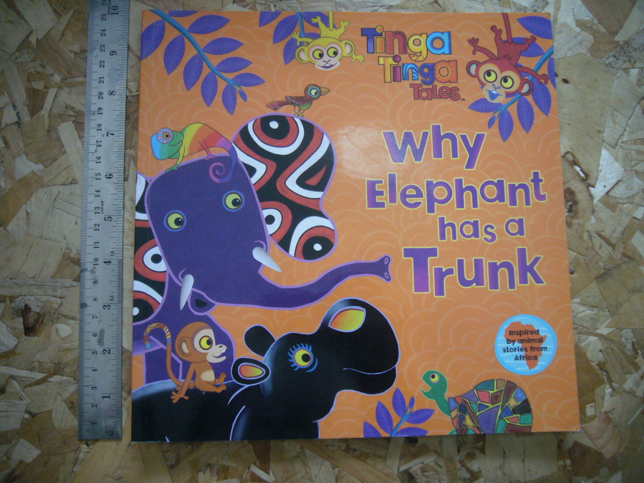 Why Elephant Has a Trunk (Tinga Tinga Tales)