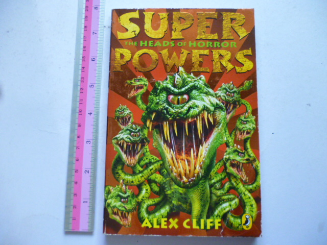 Super Powers 2: The heads of Horror
