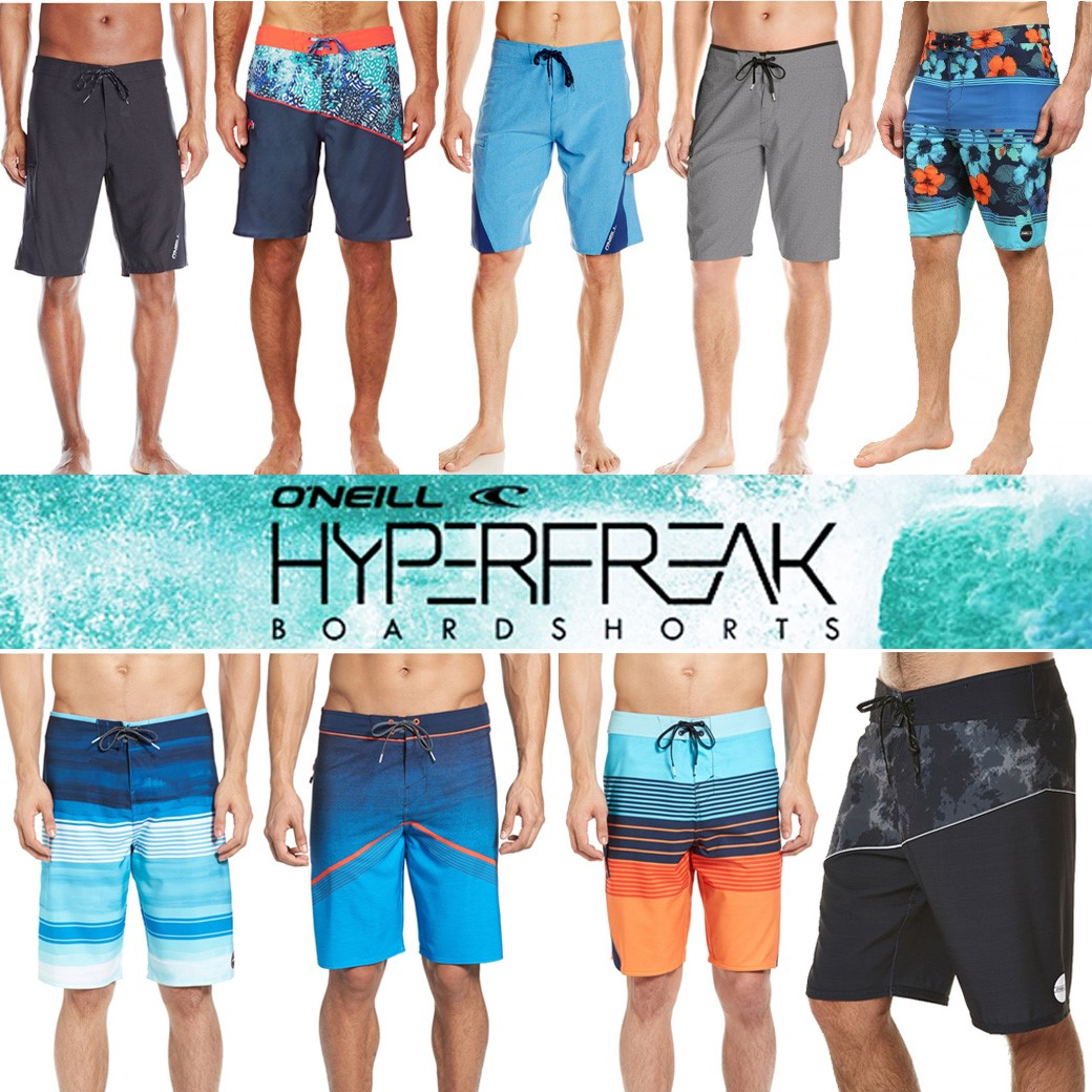O'Neill Hyperfreak and Superfreak Short