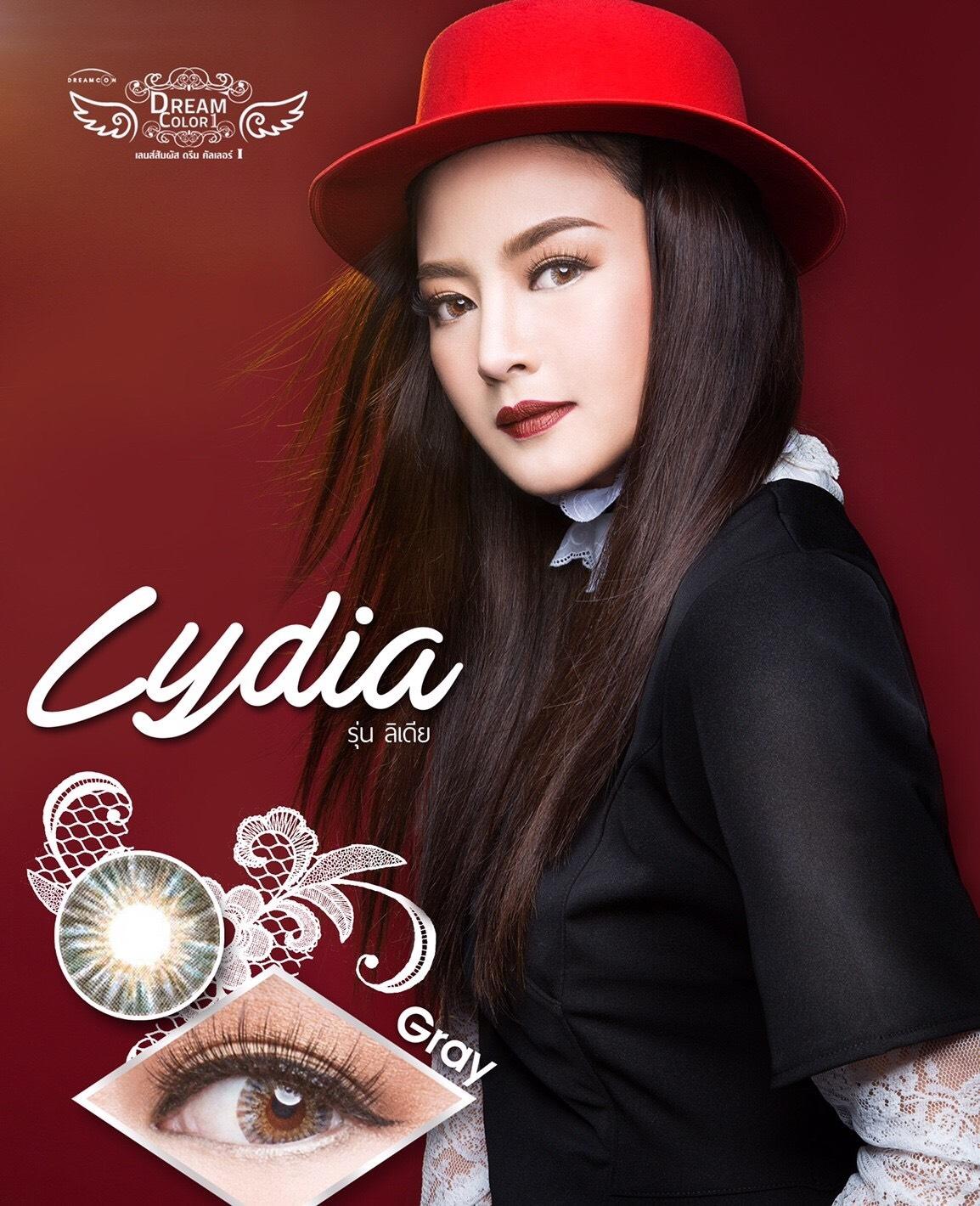 Lydia dreamcolor1 คอนแทคเลนส์ 4 โทนไม่ตัดขอบ