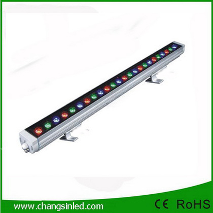 LED Wall Washer Super Bright Outdoor Lighting 24W Full Color