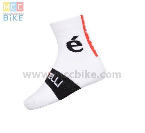 ถุงเท้าจักรยาน ถุงเท้าปั่นจักรยาน โปรทีม Cervelo