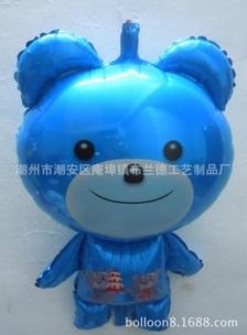 ลูกโป่งหมีสีฟ้า