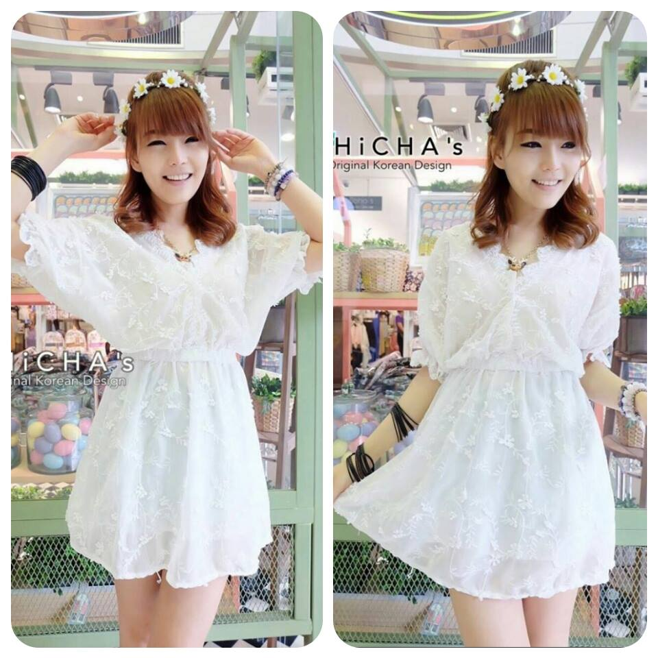 My Lace Mini Dress C164-59A03