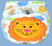 กางเกงฝึกฉี่ (เป้าหนา3ชั้น) size L - Lion