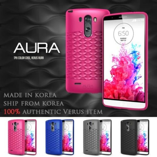 VERUS : Aura TUP Color Case Soft Cover Fitted Skin for LG G3