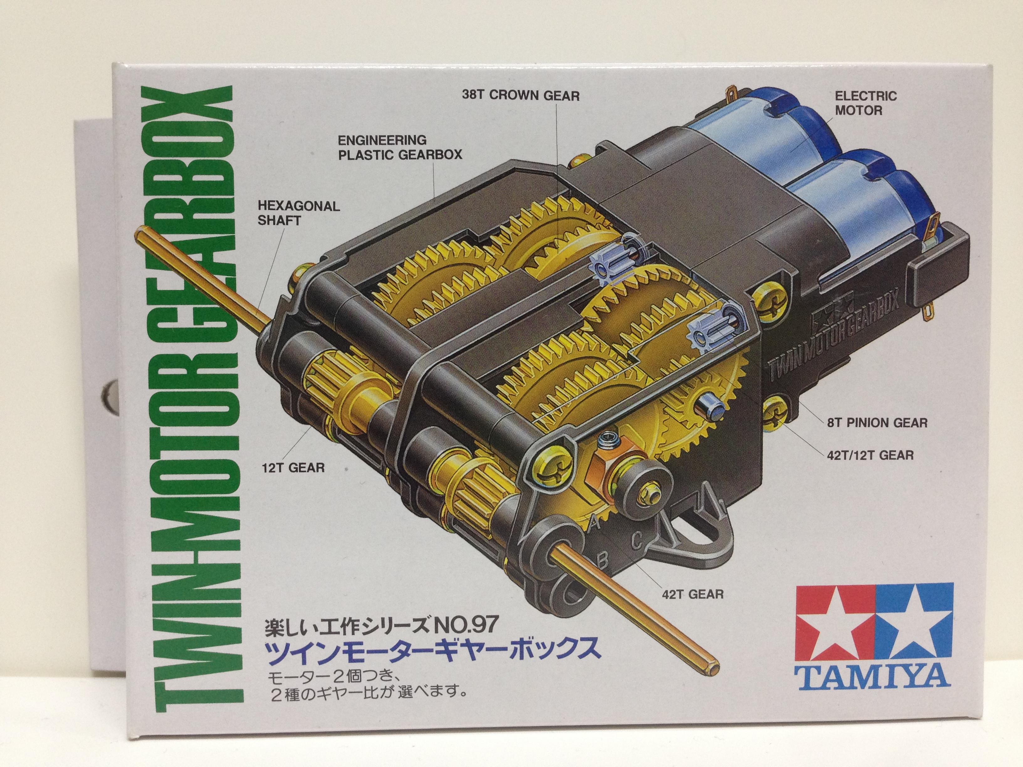 มอเตอร์ Tamiya TWIN-MOTOR GEARBOX