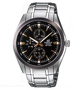นาฬิกาข้อมือ CASIO EDIFICE MULTI-HAND รุ่น EF-338DB-1AV