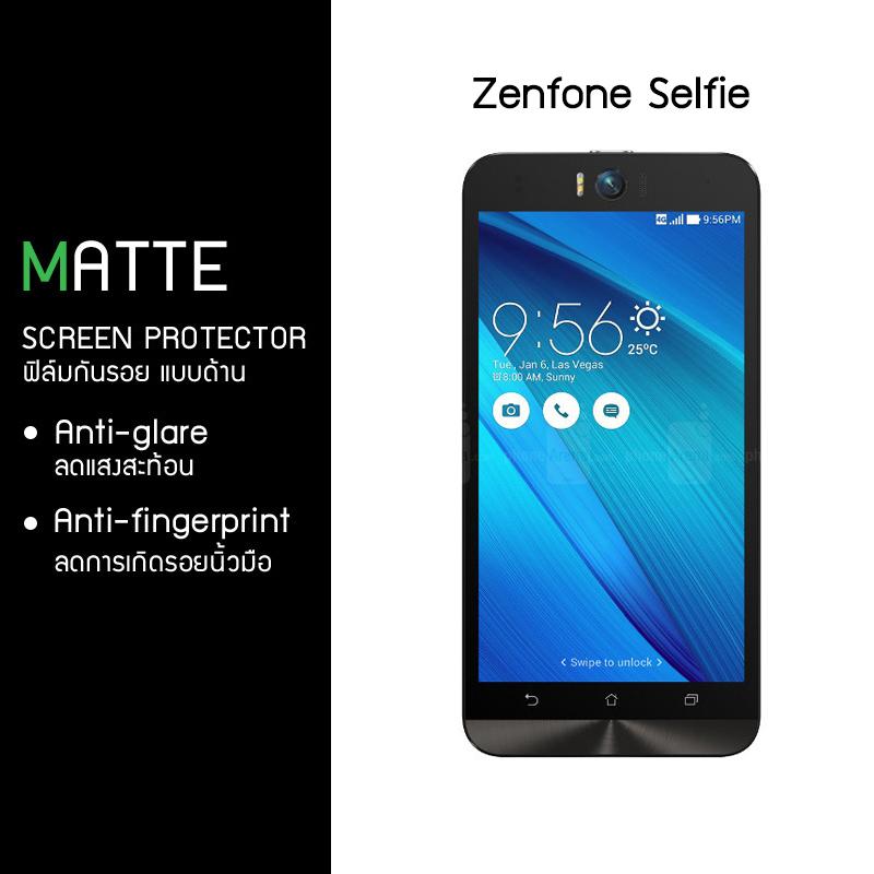 ฟิล์มกันรอย Zenfone Selfie แบบด้าน