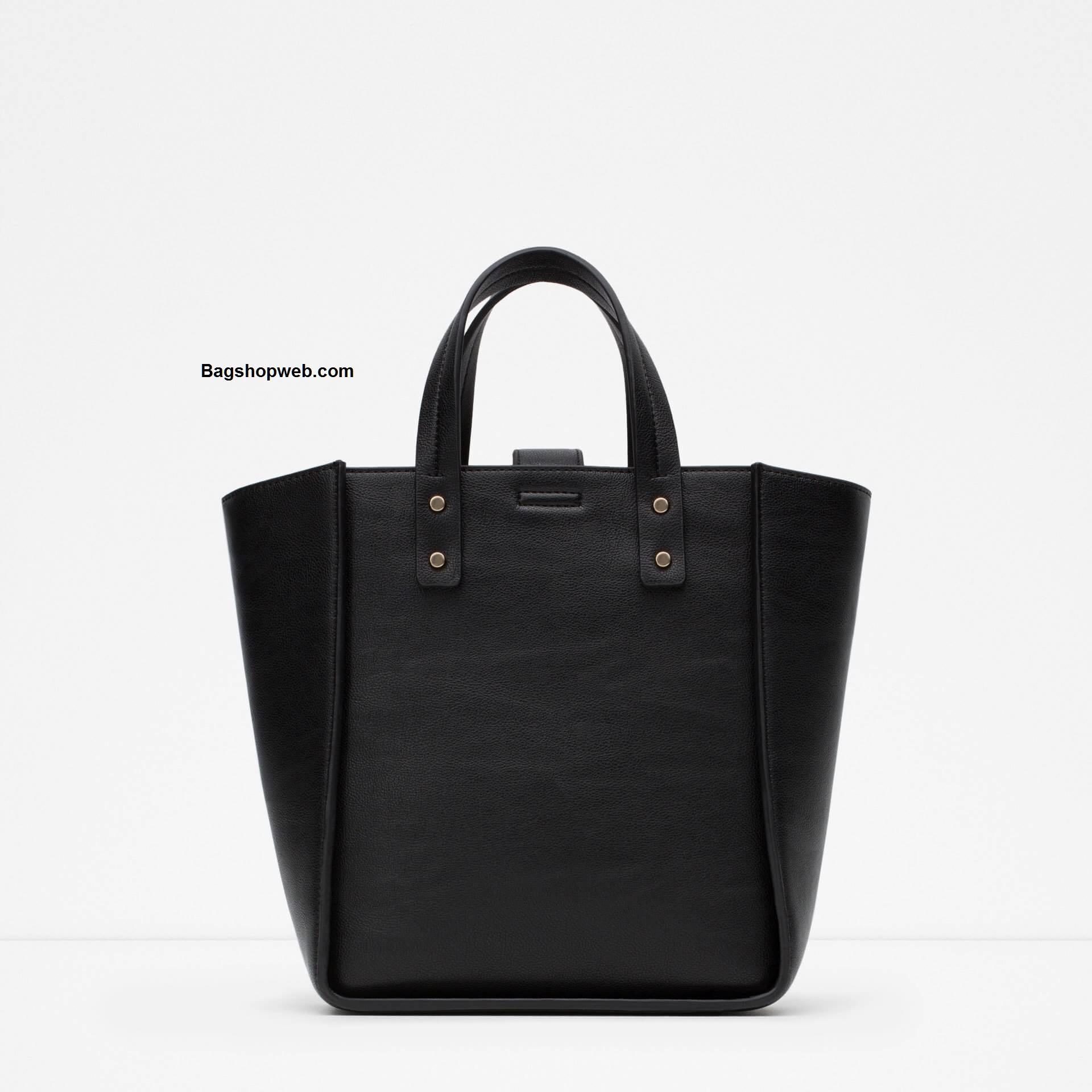 กระเป๋า ZARA TOTE BAG รุ่นใหม่ชนช้อป ดีไซน์เรียบง่าย เลอค่าคร้าาา!!