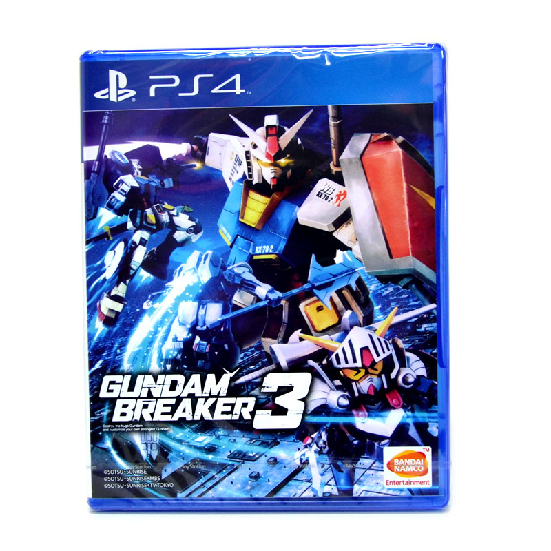 PS4™ Gundam Breaker 3 Zone 3 Asia / Voice JP, Sub Eng.