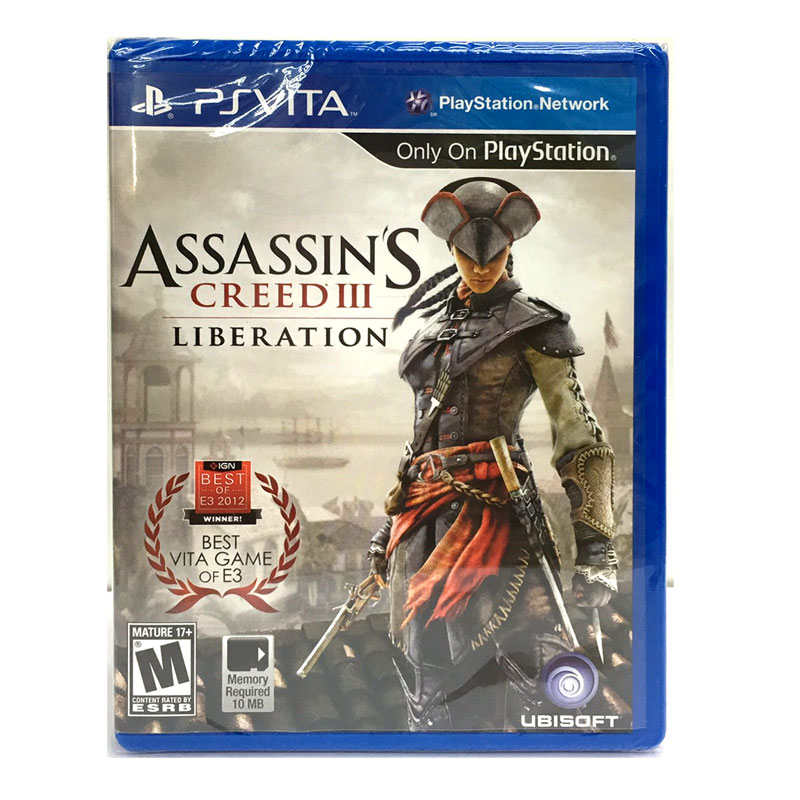 (UPD0516) PS Vita™ Assassin's Creed III: Liberation Zone 1 US / English